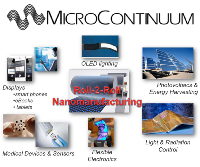 MicroContinuum – Advanced Materials & Nanomanufacturing Opportunity