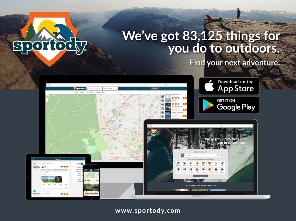 Sportody® – Outdoor Adventure Site & Mobile Apps available for acquisition